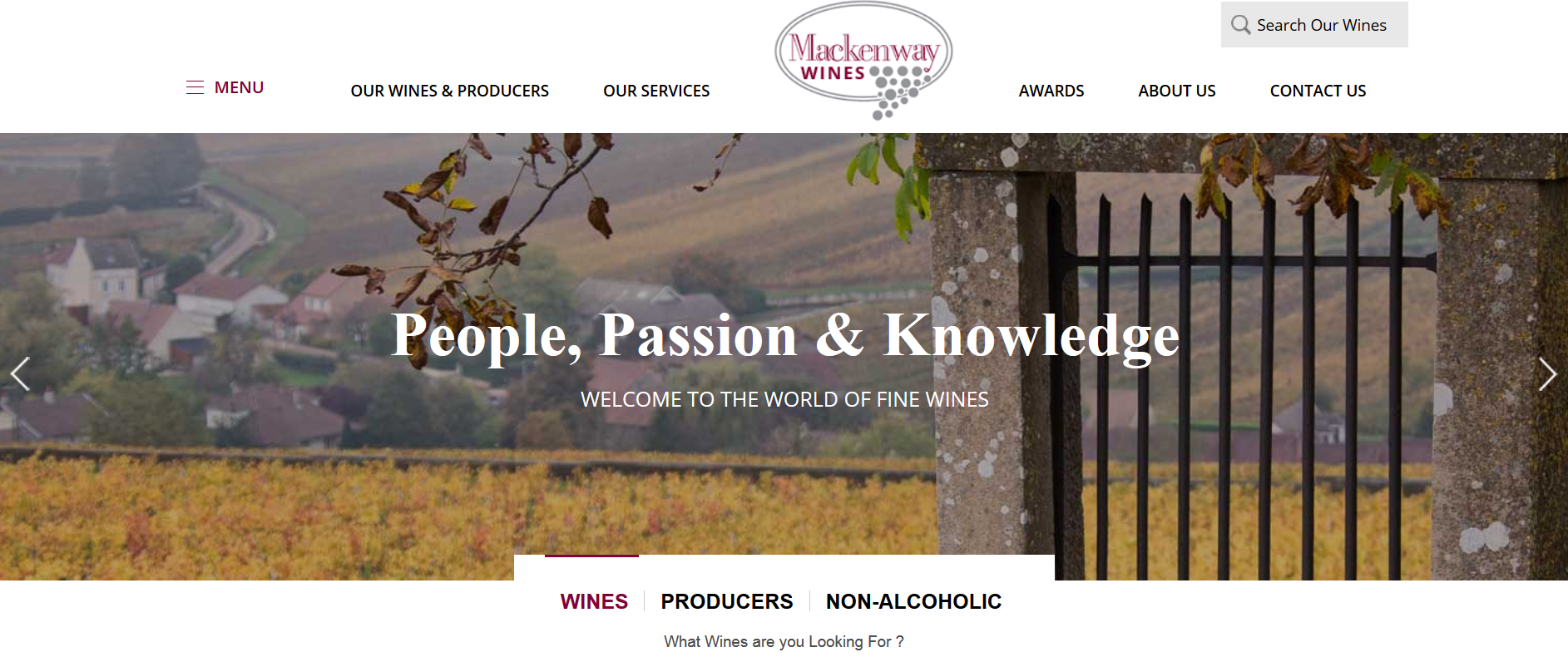 New Website - www.Mackenway.com